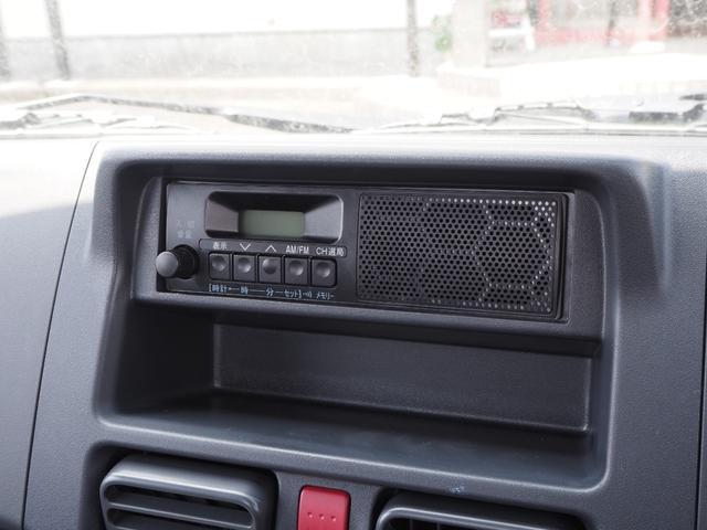 KCエアコン・パワステ 届出済未使用車 4輪駆動 エアバッグ ABS 純正FMAMラジオ 3方開き スペアキー メーカー保証付き(34枚目)