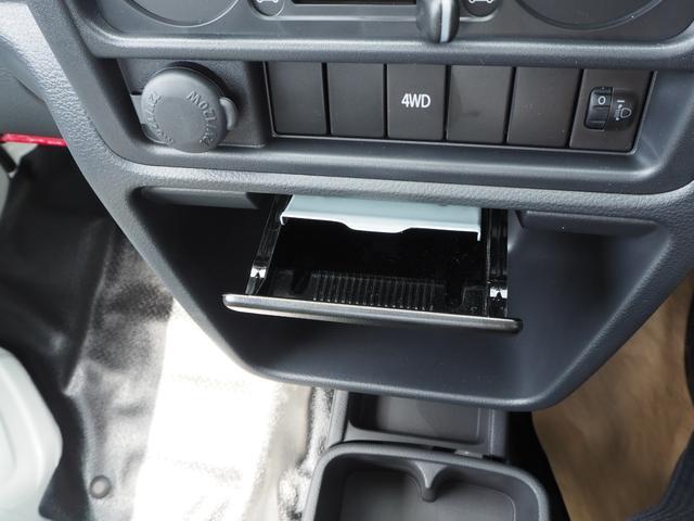 KCエアコン・パワステ 届出済未使用車 4輪駆動 エアバッグ ABS 純正FMAMラジオ 3方開き スペアキー メーカー保証付き(36枚目)