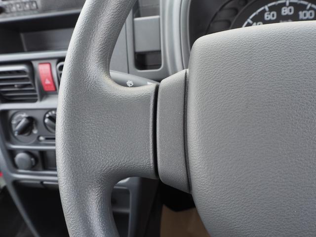 KCエアコン・パワステ 届出済未使用車 4輪駆動 エアバッグ ABS 純正FMAMラジオ 3方開き スペアキー メーカー保証付き(38枚目)