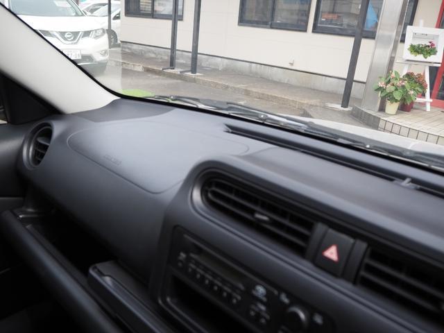 DXコンフォート 禁煙車 エアバッグ ABS 純正ラジオ キーレス 集中ドアロック サンバイザー 整備記録簿 取扱い説明書 車検整備付き(60枚目)