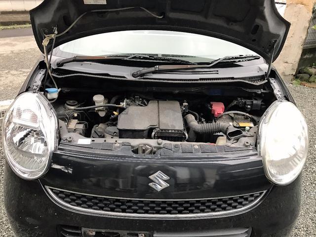 スズキ MRワゴン X インテリキー オートエアコン 内装茶色