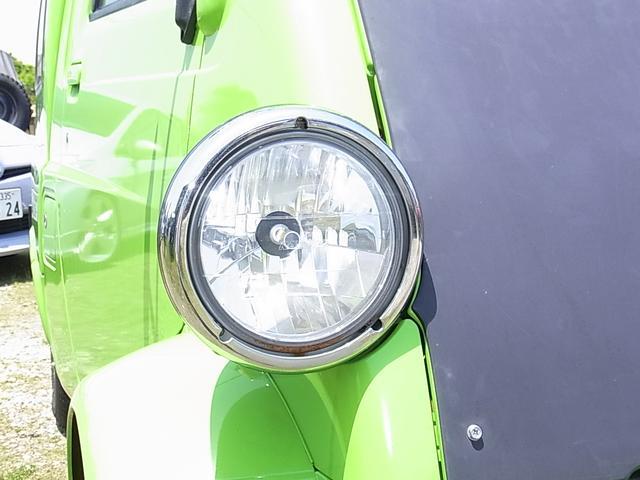 ダイハツ ミゼットII カーゴDタイプ マークIIIアルミ LEDライト