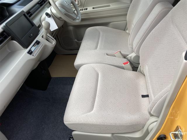 ハイブリッドFX シートヒーター アイドリングストップ オートエアコン アクティブイエロー CVT プライバシーガラス ベンチシート アームレスト(12枚目)