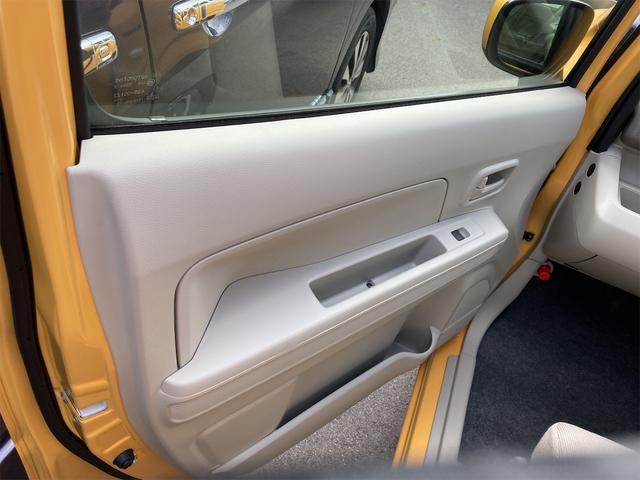 ハイブリッドFX シートヒーター アイドリングストップ オートエアコン アクティブイエロー CVT プライバシーガラス ベンチシート アームレスト(15枚目)