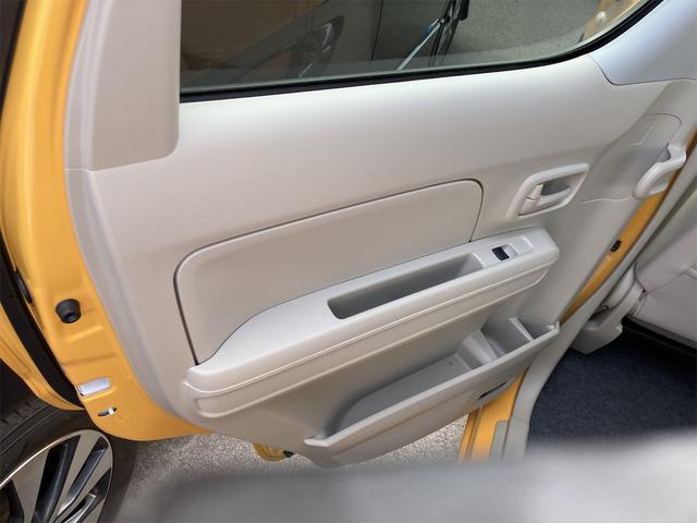 ハイブリッドFX シートヒーター アイドリングストップ オートエアコン アクティブイエロー CVT プライバシーガラス ベンチシート アームレスト(19枚目)