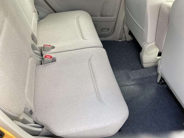 ハイブリッドFX シートヒーター アイドリングストップ オートエアコン アクティブイエロー CVT プライバシーガラス ベンチシート アームレスト(22枚目)