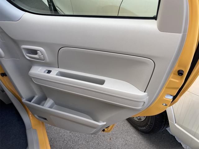 ハイブリッドFX シートヒーター アイドリングストップ オートエアコン アクティブイエロー CVT プライバシーガラス ベンチシート アームレスト(24枚目)