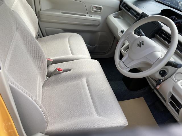 ハイブリッドFX シートヒーター アイドリングストップ オートエアコン アクティブイエロー CVT プライバシーガラス ベンチシート アームレスト(25枚目)