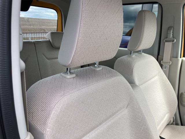 ハイブリッドFX シートヒーター アイドリングストップ オートエアコン アクティブイエロー CVT プライバシーガラス ベンチシート アームレスト(27枚目)