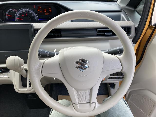 ハイブリッドFX シートヒーター アイドリングストップ オートエアコン アクティブイエロー CVT プライバシーガラス ベンチシート アームレスト(31枚目)