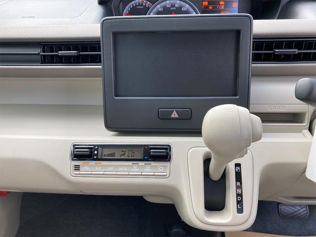 ハイブリッドFX シートヒーター アイドリングストップ オートエアコン アクティブイエロー CVT プライバシーガラス ベンチシート アームレスト(34枚目)