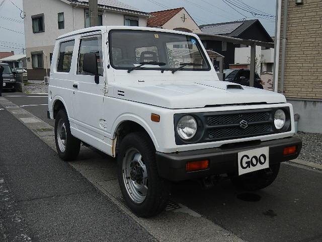 スズキ ジムニー ワイルドウインドリミテッド 4WD ターボ エアコン 5MT