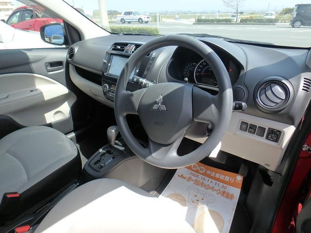 三菱 ミラージュ M アイドリングストップ ナビ DVD Bluetooth