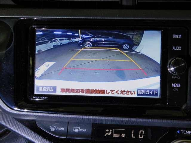 後方確認はお任せ!【リアカメラ】装備で車庫入れをサポートします。