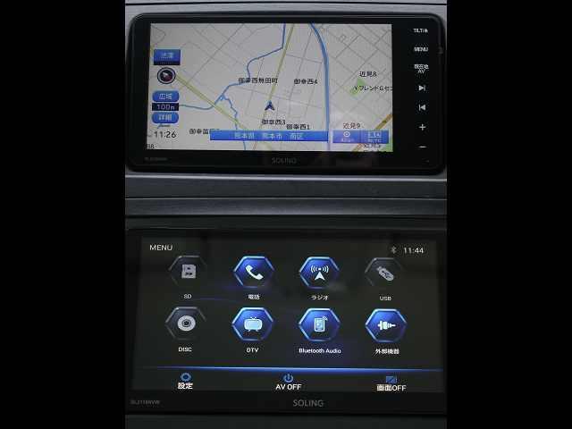 新品ナビ♪ 画像も鮮明です♪ 便利な『Bluetooth』付き!