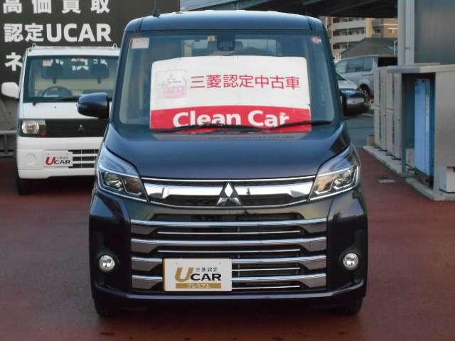 「三菱」「eKスペースカスタム」「コンパクトカー」「熊本県」の中古車5