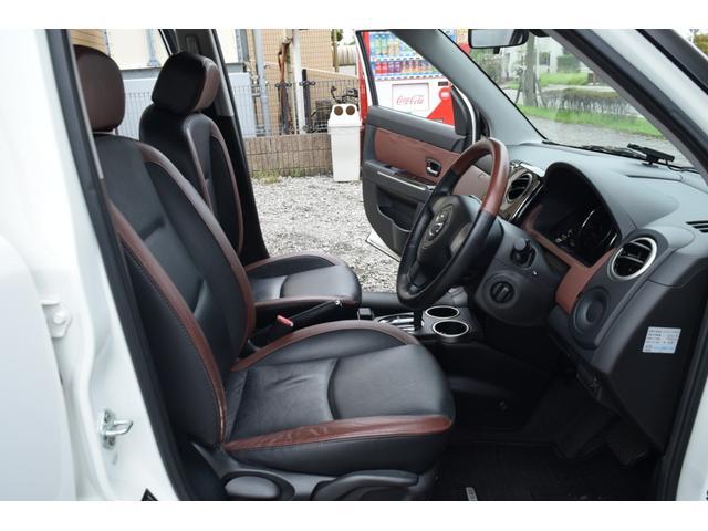 L スマートカードキー レザー ETC オートライト ナビ オートエアコン エアバッグ ABS フォグライト 本革(45枚目)