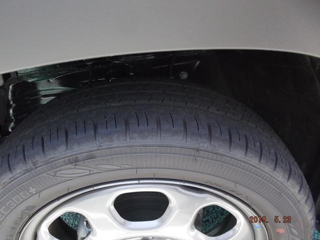 タイヤの溝、まだまだ残っています!