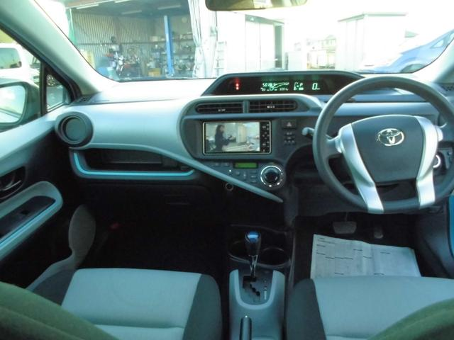 トヨタ アクア S スマートキー SDナビTV DVD シートヒーター