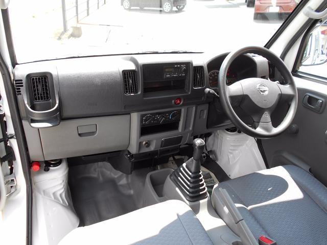 日産 NV100クリッパーバン DX ハイルーフ エアコン パワステ 集中ドアロック