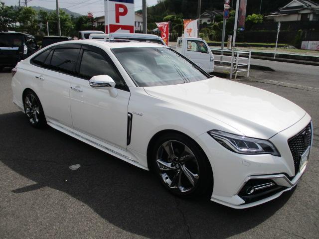 RSアドバンス サンルーフ 革シート 純正エアロ テイン新品車高調(25枚目)