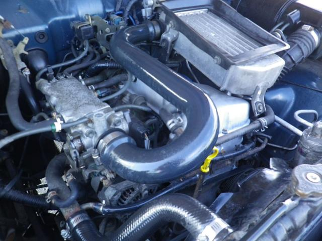 修復事故暦無し・AT・ブラウン全塗装・2インチリフトUP・ウッドステア・ヴィンテージシートカバー・CD・社外グリル・社外バンパー・ダンロップMTタイヤ