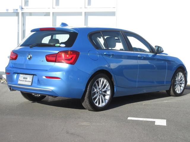 118i ファッショニスタ BMW正規認定中古車 レザー(4枚目)