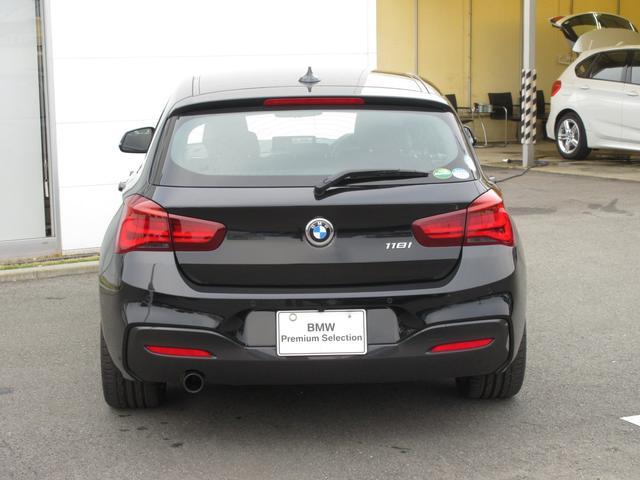 118i Mスポーツ エディションシャドー BMW認定中古車(4枚目)