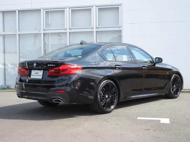 523d ブラックアウト 限定車 BMW正規認定中古車(4枚目)