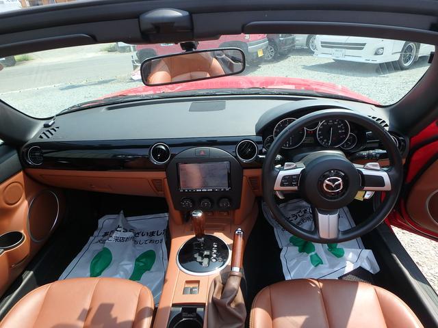マツダ ロードスター VS 社外マフラー 車高調 サスペンション レザーシート