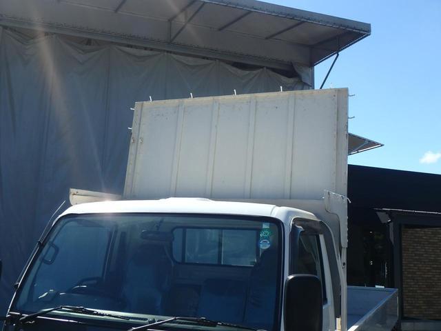 2t低床ワイドロング 6速 アルミ3方開 荷台木貼 3ペダル(7枚目)