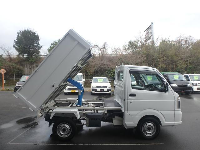 清掃深ダンプ パートタイム4WD 全塗装済 5速MT(6枚目)
