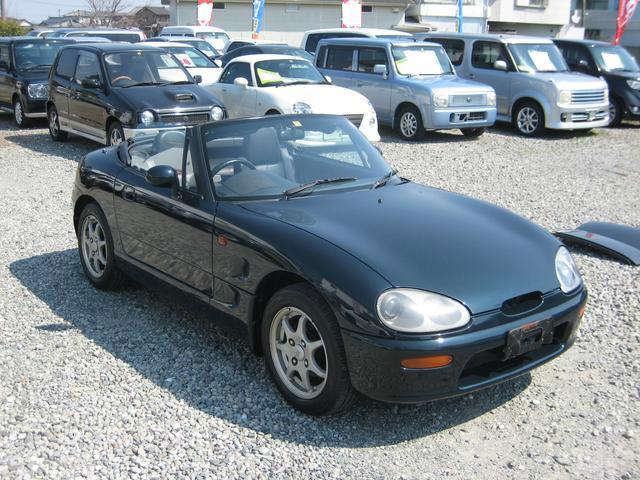 スズキ カプチーノ ベースグレード 5速マニュアル DOHCターボ Goo鑑定車