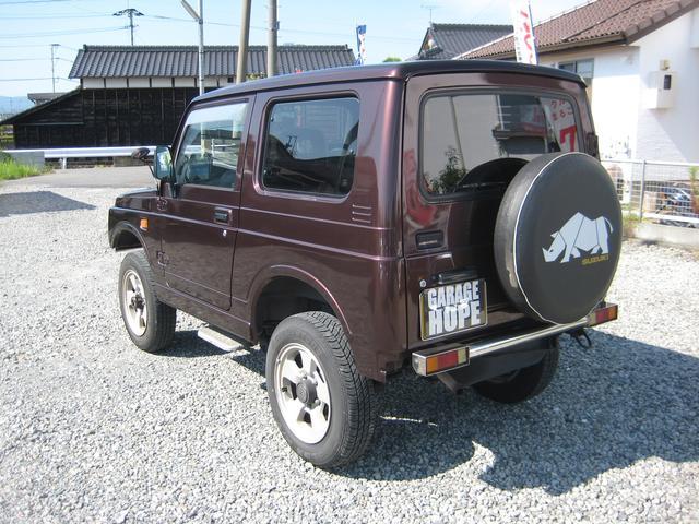 スズキ ジムニー ワイルドウインド 4WD オートマターボ 16アルミ