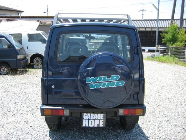 スズキ ジムニー ワイルドウインド 5速マニュアル DOHCターボ 4WD