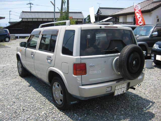 「日産」「ラシーン」「SUV・クロカン」「熊本県」の中古車7