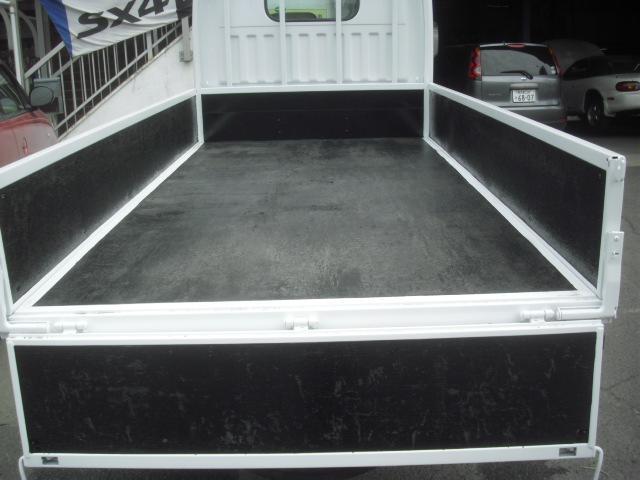 荷台内寸法 長さx幅 310x161cm 底板 木製