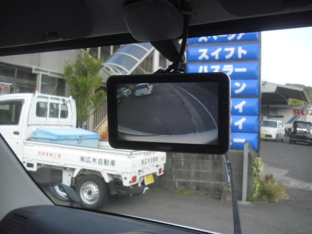 リヤカメラ バックカメラ付きで 後方視界も悪くありません