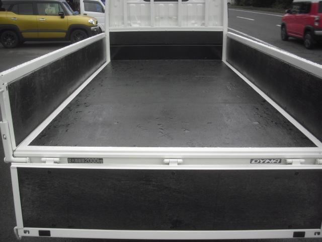 2トン 荷台内寸311x160cm 塗装済 全低床 オートマ(9枚目)