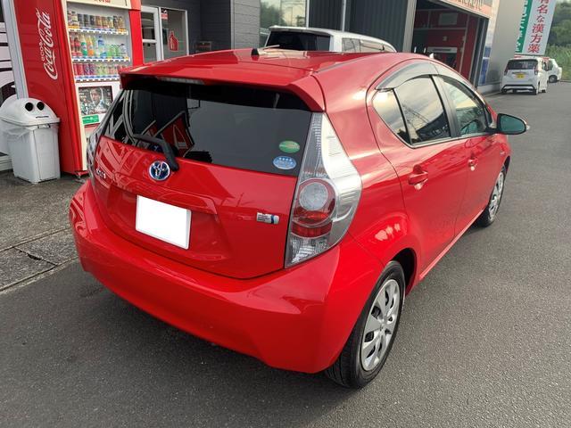 「トヨタ」「アクア」「コンパクトカー」「鹿児島県」の中古車5