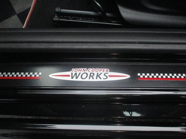ジョンクーパーワークス コンバーチブル ユーザー買取 禁煙車 1オーナー ペッパーパッケージ 茶革シート 純正18AW ナビ&TV&バックモニター ドラレコ GPSレーダー LEDヘッドライト 内蔵ETC 純正フロアマット 純正キーレス2個(26枚目)