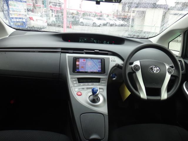 トヨタ プリウス S メモリーナビフルセグTV スマートキー