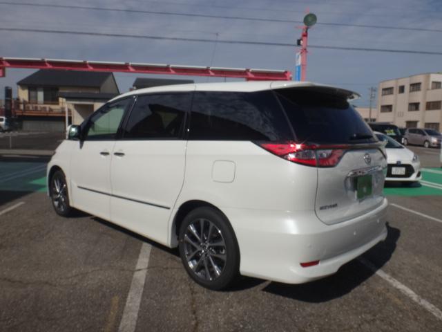 トヨタ エスティマ アエラス プレミアム-G 登録済未使用車 電動サードシート