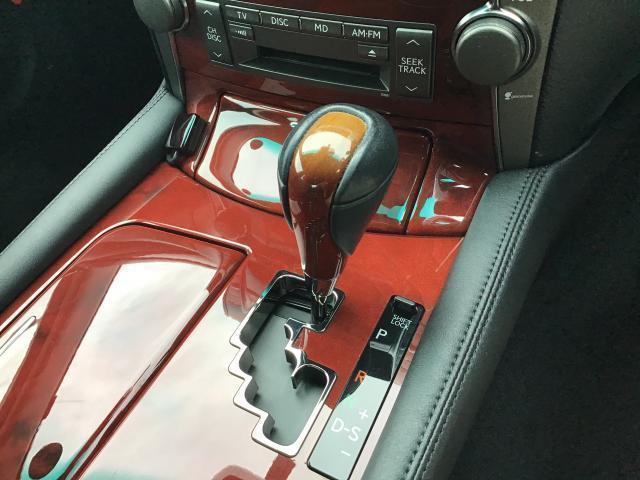 LS460 純正HDDナビ 地デジ サンルーフ 黒革シート ETC HIDヘッドライト クレンツェ20インチアルミ レクサスプレミアムサウンドシステム シートメモリー ブレーキホールド エアシート シートヒーター(11枚目)
