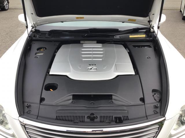 LS460 純正HDDナビ 地デジ サンルーフ 黒革シート ETC HIDヘッドライト クレンツェ20インチアルミ レクサスプレミアムサウンドシステム シートメモリー ブレーキホールド エアシート シートヒーター(17枚目)