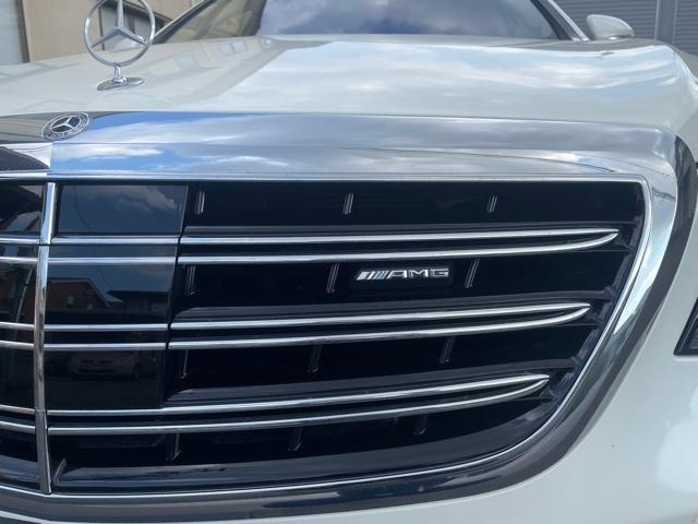 S560 4マチックロングAMGライン AMG S63仕様純正エアロバンパー(5枚目)
