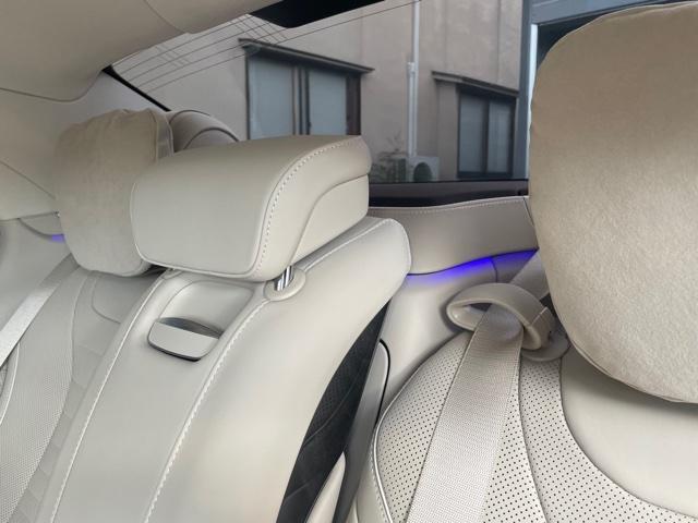 S560 4マチックロングAMGライン AMG S63仕様純正エアロバンパー(23枚目)