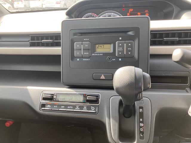 ハイブリッドFX CDデッキ 電動格納ミラー オートエアコン パワステ ABS(10枚目)