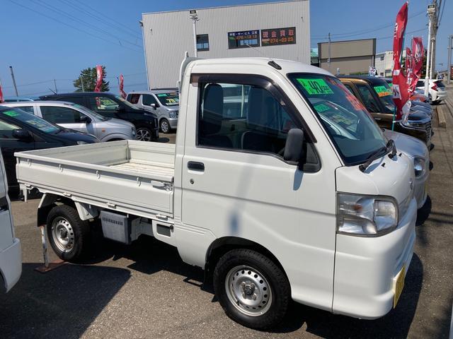 スペシャルエアコン・パワステバージョン 4WD AC AT 修復歴無 軽トラック ワンセグTV ナビ ETC(12枚目)
