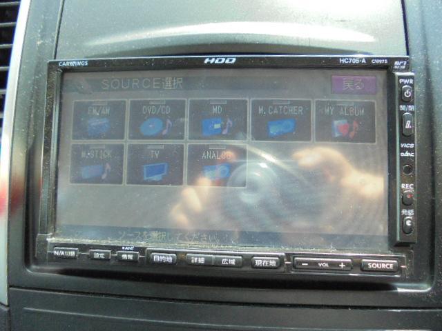 日産 ウイングロード 15RXエアロ  HDDナビワンセグTV インテリキーETC